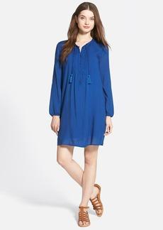 Lucky Brand Pintuck Pleat Shift Dress
