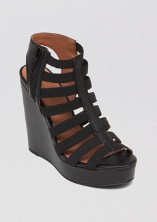 Lucky Brand Platform Wedge Sandals - Riona