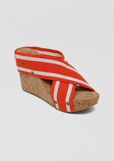 Lucky Brand Platform Wedge Slide Sandals - Miller2