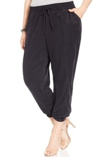 Lucky Brand Plus Size Cropped Jogger Pants
