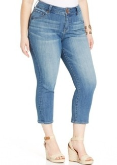 Lucky Brand Plus Size Cropped Skinny Jeans, Airlie Wash