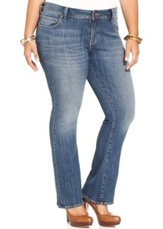 Lucky Brand Plus Size Georgia Bootcut Jeans, Amber Wash