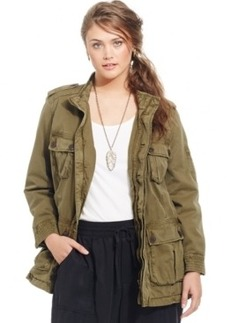 Lucky Brand Plus Size Military Anorak Jacket