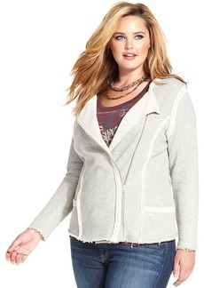 Lucky Brand Plus Size Moto Jacket