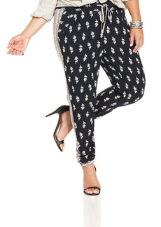 Lucky Brand Plus Size Printed Soft Pants
