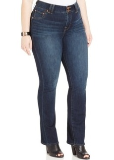 Lucky Brand Plus Size Slim Bootcut Jeans, Grissom Wash