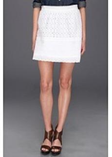 Lucky Brand Prairie Tiered Eyelet Skirt