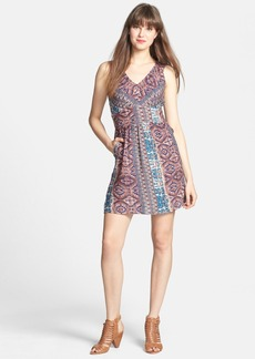 Lucky Brand Print Fit & Flare Dress