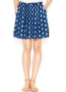 Lucky Brand Printed A-Line Skirt