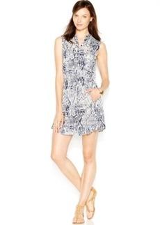 Lucky Brand Printed Jersey Dress