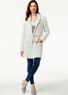 Lucky Brand Ribbed Cardigan Coat