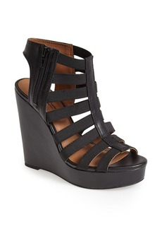 Lucky Brand 'Riona' Caged Wedge Sandal (Women)