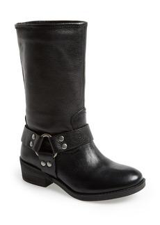 Lucky Brand 'Rolanda' Leather Harness Boot (Women)
