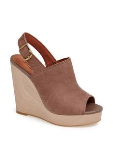 Lucky Brand 'Ronand' Slingback Wedge Sandal