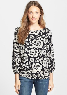 Lucky Brand 'Rose Vine' Top