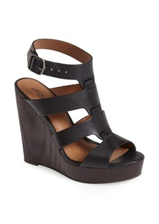 Lucky Brand 'Roselyn' Leather Caged Platform Sandal (Women)