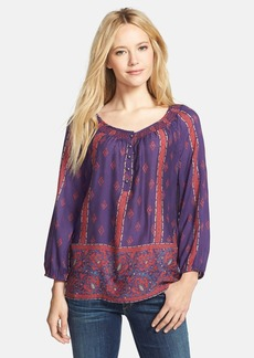 Lucky Brand 'Rosie' Print Top