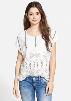 Lucky Brand Seed Beaded Top