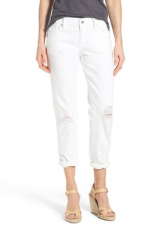 Lucky Brand 'Sienna' Destructed Stretch Ankle Slim Boyfriend Jeans