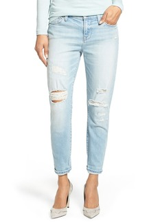 Lucky Brand 'Sienna' Distressed Cigarette Jeans (Yuba)