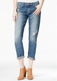 Lucky Brand Sienna Slim Ripped Crosby Wash Boyfriend Jeans