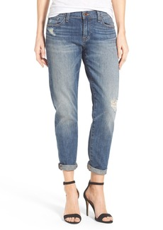 Lucky Brand 'Sienna' Stretch Slim Ankle Boyfriend Jeans (Crosby)