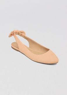 Lucky Brand Slingback Flats - Alixis Knot