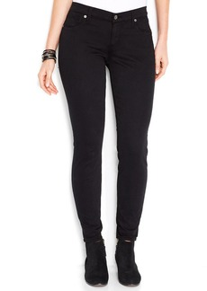 Lucky Brand Sofia Mid-Rise Skinny Jeans, Lucky Black Wash