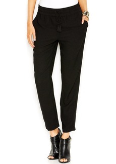 Lucky Brand Solid Straight-Leg Soft Pants