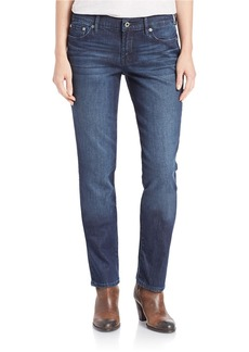 LUCKY BRAND Straight-Leg Boyfriend Jeans- Blue Cat's Eye