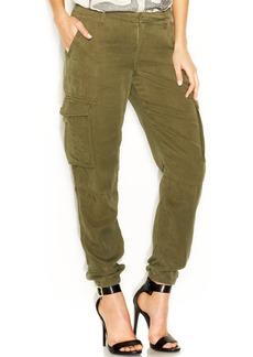 Lucky Brand Straight-Leg Cargo Soft Pants