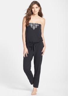 Lucky Brand Strapless Jumpsuit