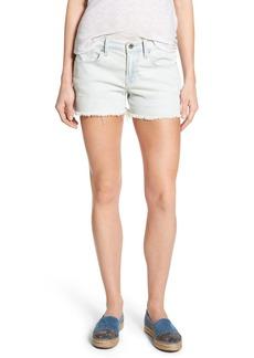 Lucky Brand Stripe Denim Cutoff Shorts