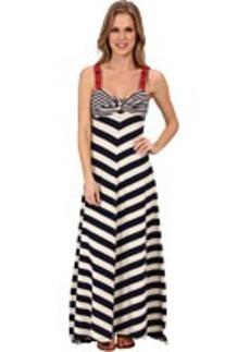 Lucky Brand Stripe Maxi Dress