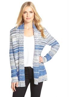 Lucky Brand Stripe Sweater Jacket