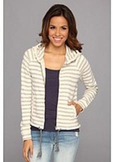 Lucky Brand Stripe Zip-Up Hoodie