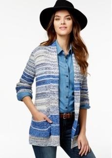 Lucky Brand Striped Cardigan Coat