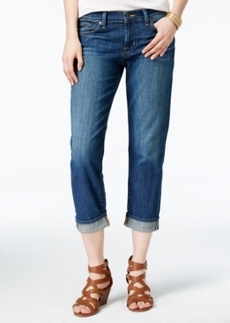 Lucky Brand Sweet Cropped Hayward Wash Straight-Leg Jeans
