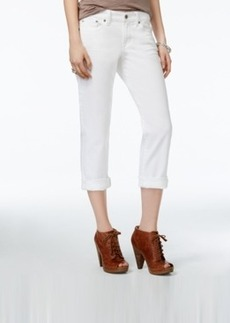 Lucky Brand Sweet Cropped White Wash Jeans