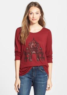 Lucky Brand Taj Mahal Print Tee