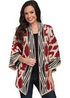 Lucky Brand Textured Poncho