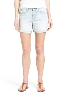 Lucky Brand 'The Roll Up' Roll Cuff Distressed Denim Shorts (Hatteras)