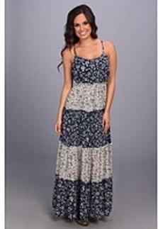 Lucky Brand Tiered Maxi Dress