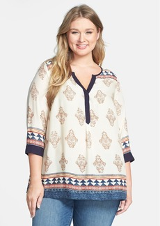 Lucky Brand 'Tinsley' Tunic (Plus Size)
