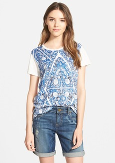 Lucky Brand Triangle Motif Tee