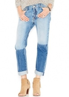 Lucky Brand Two Tone Boyfriend Jeans, Solano Wash