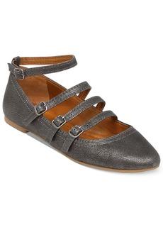 Lucky Brand Women's Addisonn Ankle Strap Flats