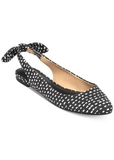 Lucky Brand Women's Alixis Slingback Bow Flats Women's Shoes