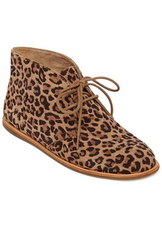 Lucky Brand Women's Asherr Flat Lace-Up Booties