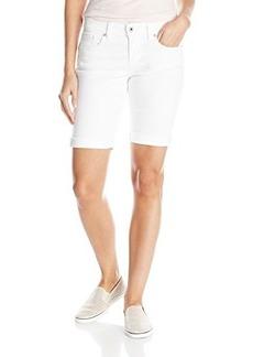 Lucky Brand Women's Bermuda Short In White Cap